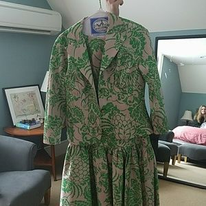 Diane von Furstenberg dress with jacket
